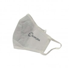 Oxypura Air Purifying Face Masks White - Re-Usable 4 Layer Activated Carbon Filtration